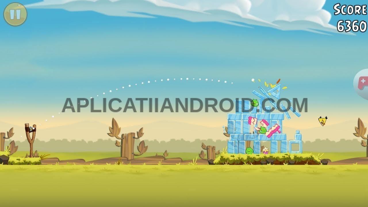 Angry Birds, jocuri fără internet gratis Android.