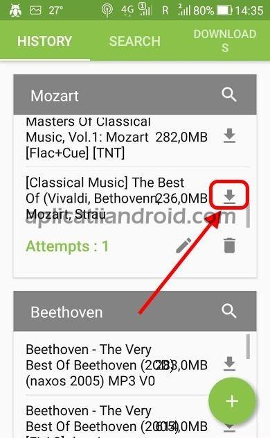 Iată cum se descarcă muzică gratis direct pe telefon Android cu aplicația TorrDroid