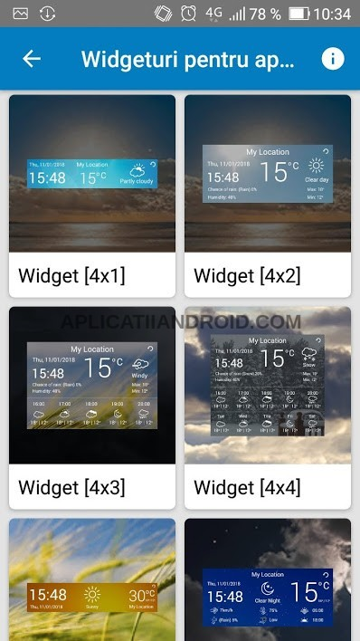 vremea pe ecran