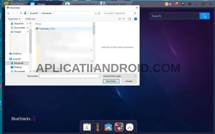 Tutorial instalare aplicații Android pe PC cu programul Bluestacks