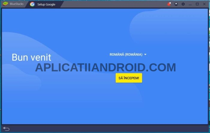 instalare aplicatii android pe laptop