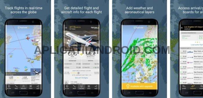 aplicatie harta cu zborul avioanelor