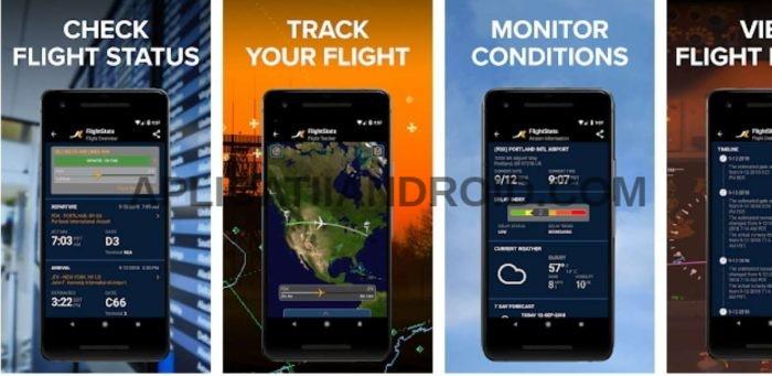 aplicatie pe unde zboara avionul in timp real