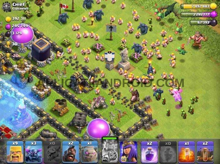 Clash of Clans joc multiplayer online pentru Android