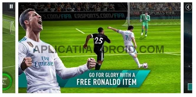 FIFA Football, cel mai tare joc cu fotbal pentru telefoane Android.