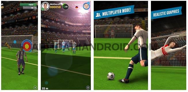Flick Shoot 2 jocuri de tras la poarta Android