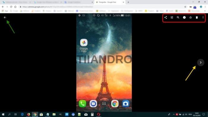 google foto desktop