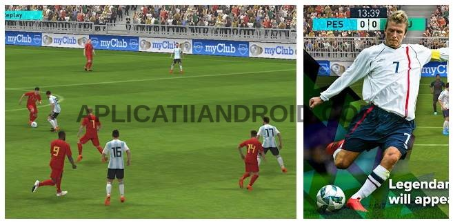 Jocuri cu fotbal gratis Android, PES Pro Evolution Soccer